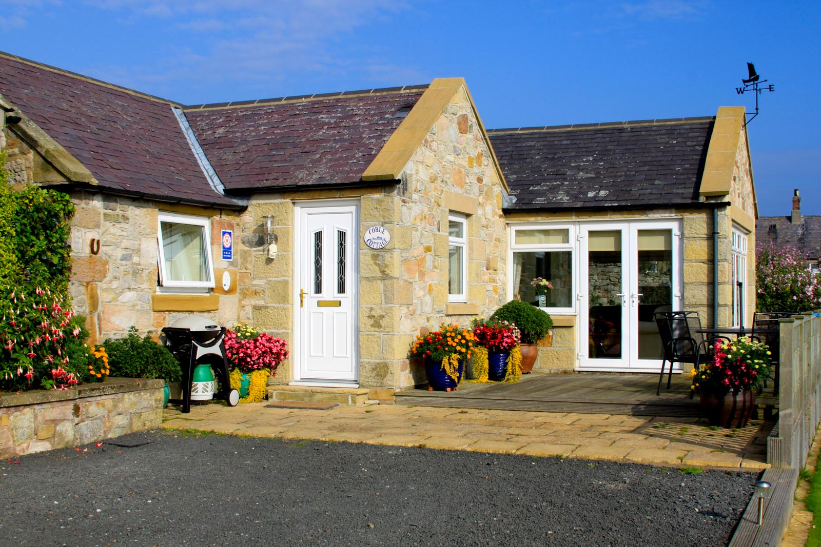 Coble Cottage, Boulmer, Northumberland