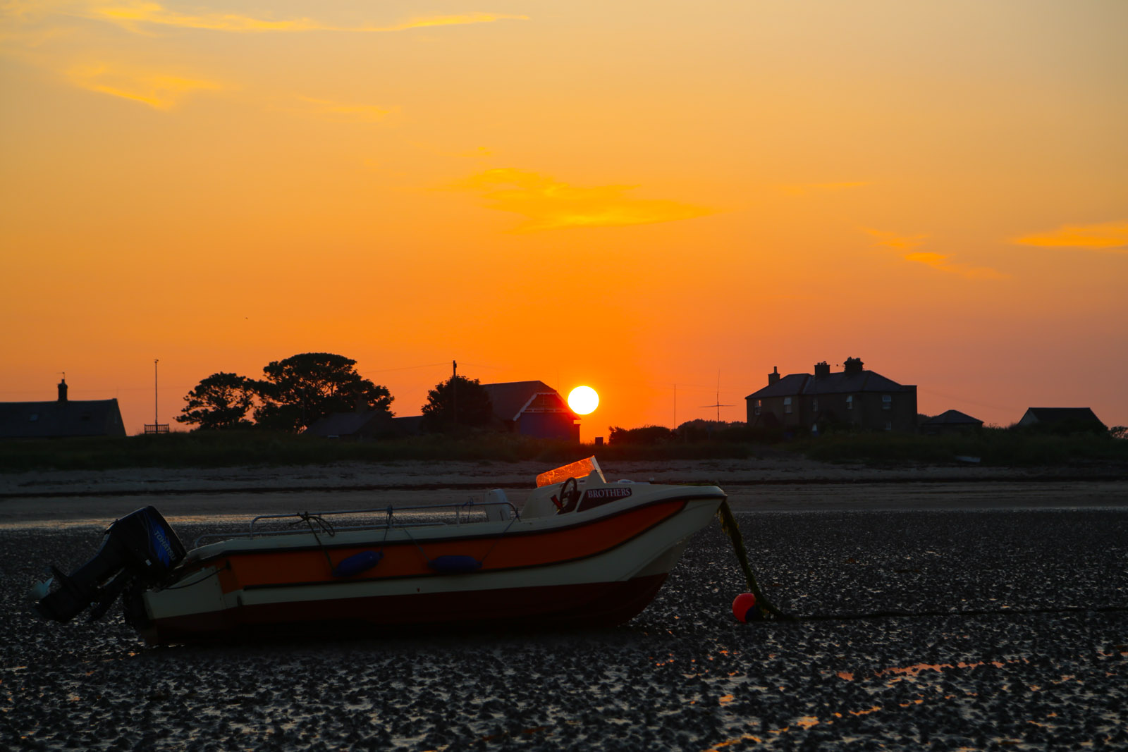 Another Beautiful Sunset In Boulmer
