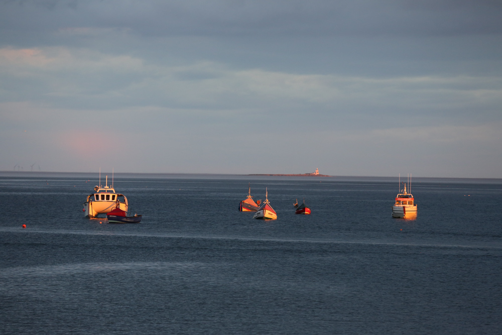 Boats In Boulmer Haven