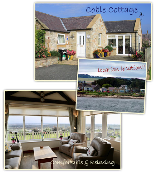 Come and stay at Coble Cottage, use the contact information to enquire