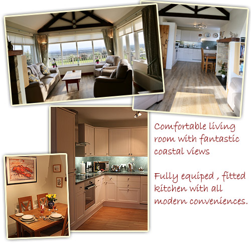 Coble Cottage self-catering holiday accommodation boulmer northumberland